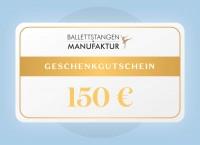 Geschenkgutschein 150 € Geburtstag
