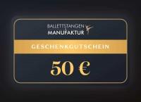Geschenkgutschein 50 € Neutral