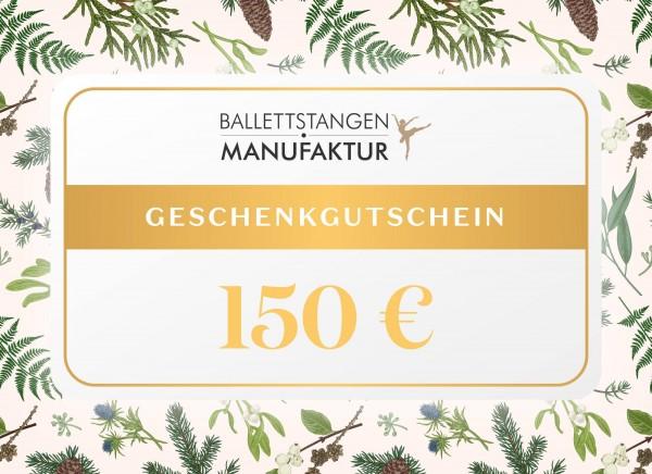 Geschenkgutschein 150 € Weihnachten