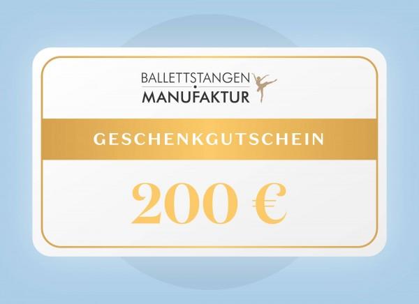 Geschenkgutschein 200 € Geburtstag