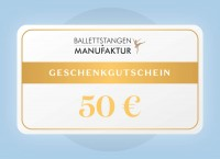 Geschenkgutschein 50 € Geburtstag
