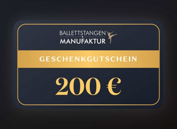Geschenkgutschein 200 € Neutral